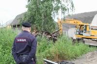 Снос домов в Плеханово. 29 июня 2016, Фото: 5