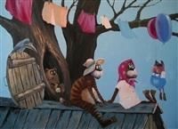 Забавные картины художника Андрея Репникова, Фото: 4