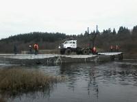 Монтаж моста в Архангельской области, Фото: 32