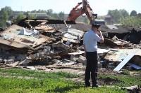 Демонтаж незаконных цыганских домов в Плеханово и Хрущево, Фото: 67