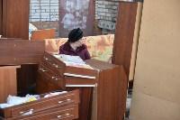 У дома, поврежденного взрывом в Ясногорске, демонтировали опасный угол стены, Фото: 24
