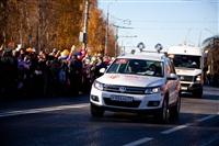 Второй этап эстафеты олимпийского огня: Зареченский район, Фото: 53
