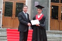 Владимир Груздев поздравил выпускников магистратуры ТулГУ, Фото: 76