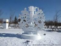 Фестиваль снежной скульптуры в Китае, Фото: 2