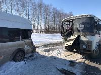 В Тульской области в ДТП с автобусом и маршруткой пострадали несколько человек, Фото: 3