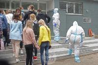 В Туле сотрудники МЧС эвакуировали госпитали госпиталь для больных коронавирусом, Фото: 58