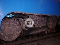 В Туле у трамвая отвалилось колесо и в него врезалась легковушка, Фото: 3