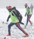«Арсенал» готовится на снежном поле к игре против «Тосно», Фото: 9