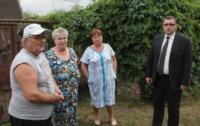 Встреча с погорельцами в Алексине., Фото: 12