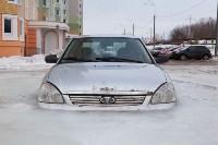 Машина вмерзла в лед, Фото: 4