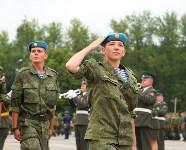 Дмитрий Глушенков простился со знаменем дивизии, Фото: 42