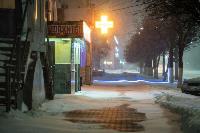 В Туле ночью бушевал буран, Фото: 88