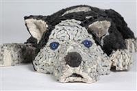 Скульптуры собак из велосипедных цепей, Фото: 3