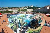 3D граффити во Франции, Фото: 3