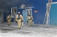 Пожар на складе ОАО «Тулабумпром». 30 января 2014, Фото: 9