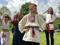 В Ясной Поляне прошел фестиваль молодежных фольклорных ансамблей «Молодо-зелено», Фото: 4