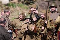 В Центральном парке воссоздали боевой подвиг советских солдат, Фото: 63