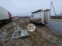 В страшном ДТП под Тулой погибли два человека, Фото: 4