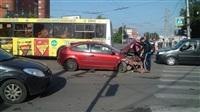 Авария на пересечении Красноармейского проспекта и ул. Дмитрия Ульянова, Фото: 3