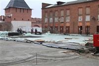 Реконструкция Кремля. 23 декабря 2013, Фото: 1