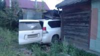 Внедорожник въехал в нежилой дом на ул. Кирова, Фото: 1