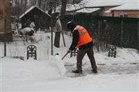 Расчистка тульских улиц коммунальными службами, Фото: 7