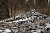 В лесу в Узловском районе обнаружена свалка ртутных ламп, Фото: 7