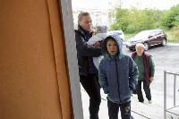 Алексей Дюмин посетил дом в Ясногорске, восстановленный после взрыва, Фото: 43