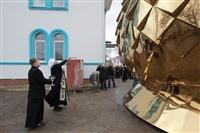 Освящение креста купола Свято-Казанского храма, Фото: 12