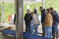 Строительство Ледовой арены в парке 250-летию ТОЗ. 16 мая 2015, Фото: 7