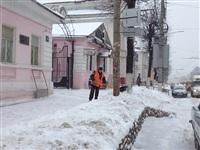 Расчистка тульских улиц коммунальными службами, Фото: 13
