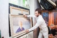 Александр Немцов рассказал об истории картины с Путиным, Богородицей и Николаем II, Фото: 23