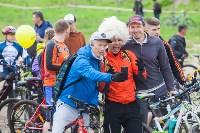 В Туле прошел большой велопарад, Фото: 124