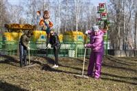 Субботник в Комсомольском парке с Владимиром Груздевым, 11.04.2014, Фото: 50