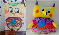 Игрушки, сшитые по рисункам детей, Фото: 6