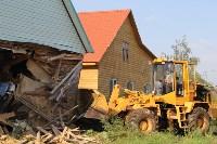 Снос незаконных построений в Плеханово 18 августа., Фото: 10