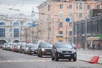 На ул. Советской в Туле убрали дорожные ограждения с трамвайных путей, Фото: 9