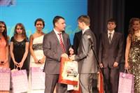 Владимир Груздев поздравил тульских выпускников-медалистов, Фото: 110
