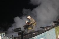 В поселке Октябрьский сгорел дом., Фото: 2