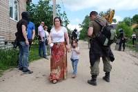 В Плеханово начали сносить дома в цыганском таборе, Фото: 143