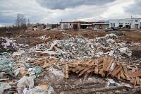 В Туле на берегу Тулицы обнаружен незаконный мусорный полигон, Фото: 31