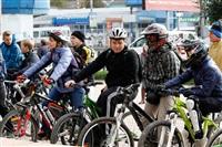 По центральным улицам Тулы прошел велопробег, Фото: 37