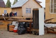 В тульском селе сносят незаконные цыганские постройки, Фото: 18