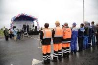 В Суворовском районе  введен в эксплуатацию участок автодороги «Калуга-Перемышль-Белёв-Орёл», Фото: 26