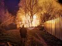Крупный ночной пожар в Туле, Фото: 6