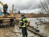 Паводок отступает: транспортное сообщение по мостам в Одоевском и Суворовском районах восстановлено, Фото: 9
