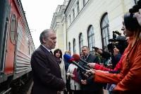 Встреча Валерия Гергиева на Московском вокзале в Туле, Фото: 20