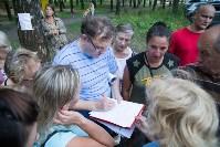 Собрание жителей по поводу благоустройства березовой рощи, Фото: 16