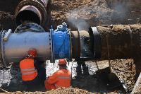 Как ведется монтаж водовода, питающего водой Пролетарский округ Тулы. Фото, Фото: 29