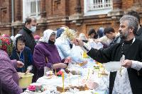 Туляки освящают пасхи и куличи, Фото: 61